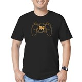 G4 Controller - Men's Fitted Black T-Shirt