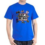 Cap'n Wacky World Souvenir Dark T-Shirt