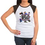 Cap'n Wacky World Souvenir Women's Cap Sleeve T-Sh