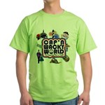 Cap'n Wacky World Souvenir Green T-Shirt