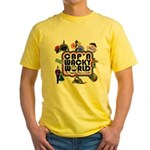 Cap'n Wacky World Souvenir Yellow T-Shirt