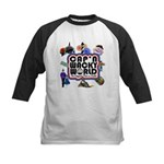 Cap'n Wacky World Souvenir Kids Baseball Jersey