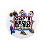 "Cap'n Wacky World Souvenir 3.5"" Button"