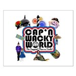 Cap'n Wacky World Souvenir Small Poster