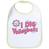 I Dig Volleyball Bib