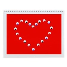 12 Months of Hearts Love Valentine's Wall Calendar