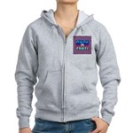 Pray For Haiti Women's Zip Hoodie