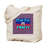 Pray For Haiti Tote Bag