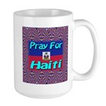 Pray For Haiti Large Mug
