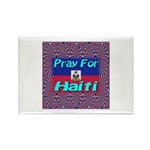 Pray For Haiti Rectangle Magnet (100 pack)