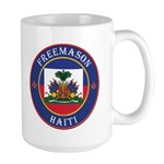 Haiti Freemason Large Mug