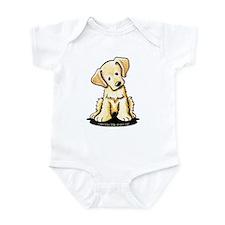 Lab Retriever Puppy Infant Bodysuit