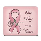 Cute Breast cancer remembrance Mousepad