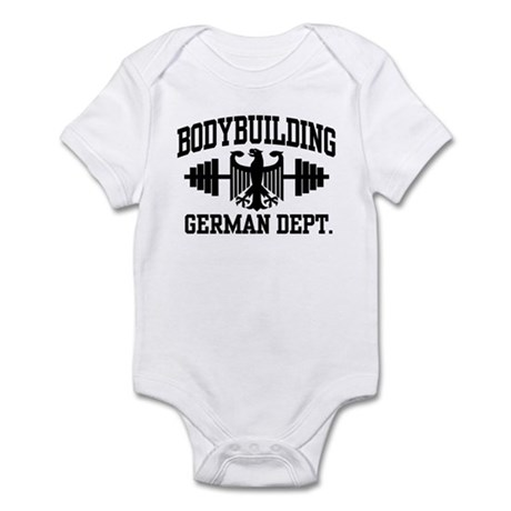 German Bodybuilding Infant Bodysuit