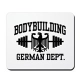 German Bodybuilding Mousepad