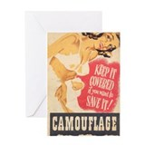 Keep It Covered! Greeting Card