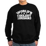 World's Coolest Husband Sweatshirt (dark)