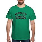 World's Coolest Husband Dark T-Shirt