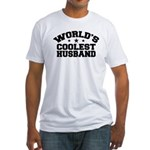 World's Coolest Husband Fitted T-Shirt