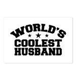 World's Coolest Husband Postcards (Package of 8)