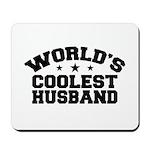 World's Coolest Husband Mousepad