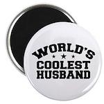 World's Coolest Husband Magnet
