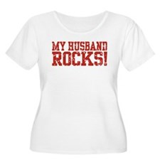 My Husband Rocks T-Shirt