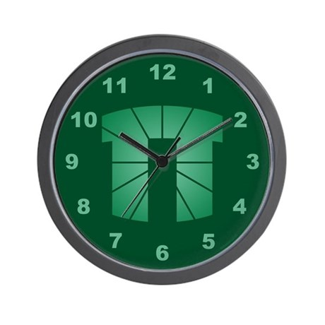 Green Pi Wall Clock