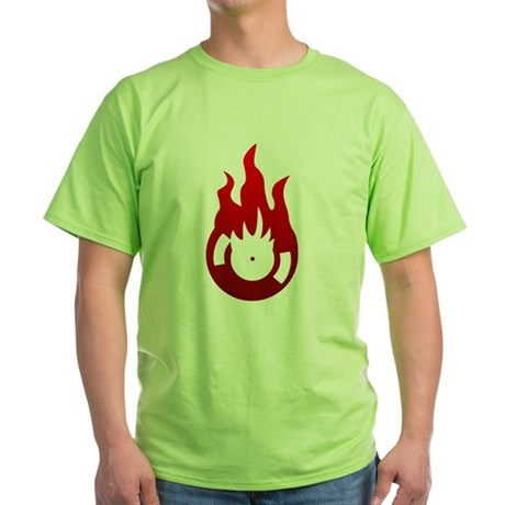 Melted Vinyl Green T-Shirt