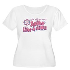 Spike Like a Girl T-Shirt