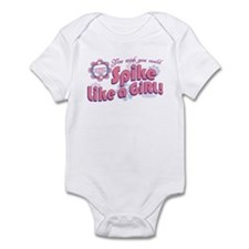 Spike Like a Girl Infant Bodysuit