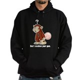 Don't Swallow Your Gum (Black Hoodie