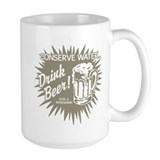 Drink Beer (Brown) Mug