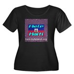 Help Haiti With Prayer Women's Plus Size Scoop Nec