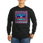 Help Haiti With Prayer Long Sleeve Dark T-Shirt