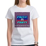 Help Haiti With Prayer Women's T-Shirt