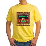 Help Haiti With Prayer Yellow T-Shirt