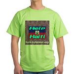 Help Haiti With Prayer Green T-Shirt
