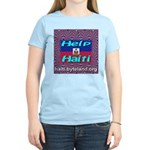 Help Haiti With Prayer Women's Light T-Shirt