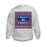Help Haiti With Prayer Kids Sweatshirt