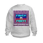 Help Haiti With Prayer Kids Sweatshirt