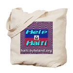 Help Haiti With Prayer Tote Bag