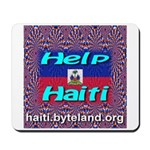 Help Haiti With Prayer Mousepad