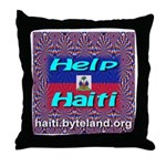 Help Haiti With Prayer Throw Pillow