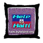 Help Haiti With Prayer Throw Pillow