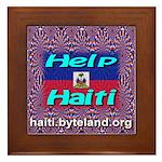 Help Haiti With Prayer Framed Tile