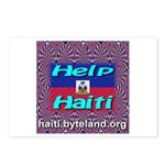 Help Haiti With Prayer Postcards (Package of 8)
