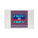 Help Haiti With Prayer Rectangle Magnet (10 pack)