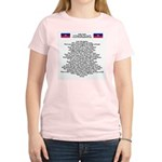 Pray For Haiti Women's Light T-Shirt