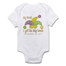 My First Mardi Gras Infant Bodysuit
